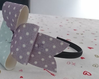 Flower Bow on a Alice Band