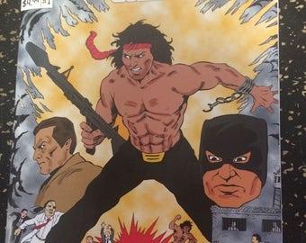 Adventure Man # 1 Comic by Sparkle Comics