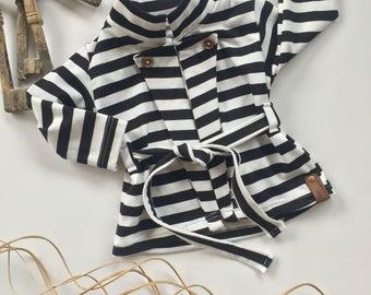 Baby coat, toddler blazer, toddler girl clothing, modern baby girl clothing, baby girl clothes, infant jackets, baby gift ideas, baby girl