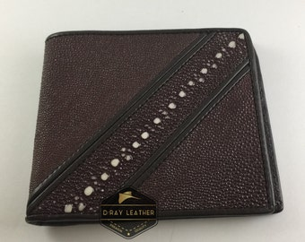 D'Ray StingRay Leather Wallet for Man