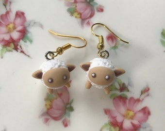 Kawaii Sheep Earrings