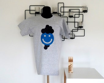 T shirt Grey Heather - Daddy smile-size S