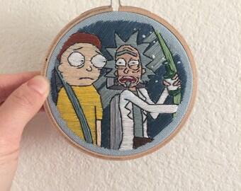 Rick and Morty Stitching / Fan Art #3