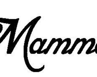 Mamma Book Folding Pattern