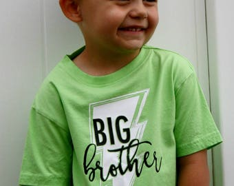 Big Brother Shirt / Pregnancy Announcement / Big Brother Gift / Kids Shirts / Pregnancy Announcement Shirt / Big Brother Announcement Shirt