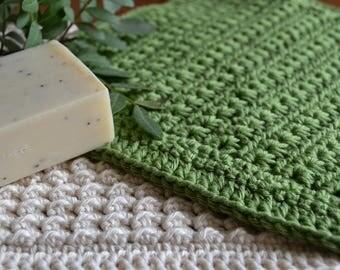 Pure Cotton Face Cloths (set of 2)