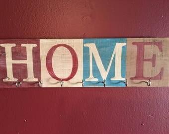 Wooden Home Key Hanger