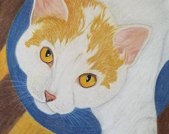 Custom Pet Portrait, Pastel Drawing/ Painting, Realistic- Dog, Cat, Horse, Bird, Reptile, Other