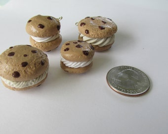 Cookie Ice Cream Sandwich Charm