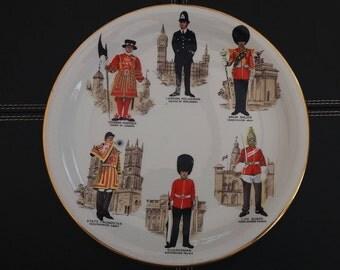 Britannia Design Dartmouth Plate.London Guards.
