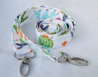 Cacti replacement bag strap, cactus patterned lobster clasp across the shoulder strap