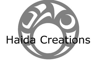 Handmade Haida Jewelry - COMING SOON!