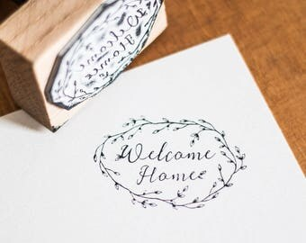"""""""Welcome Home"""" Predesigned Seal"""
