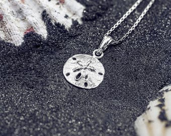 Sand Dollar Necklace Pendant