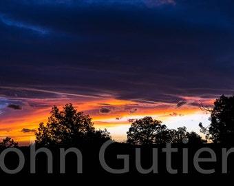 Southwest Sunset 2 Panorama