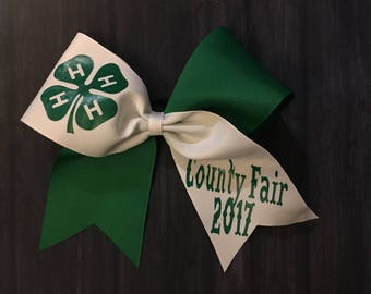 4H Hair/Cheerleading Bow - One of our BEST SELLERS!!