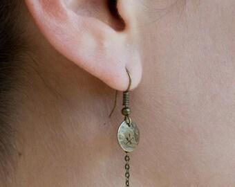 Duck beak earrings