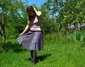 Skirt parts Gala purple T...