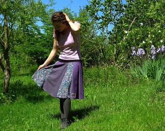 Skirt parts Gala purple T38 - 40