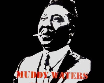 Muddy Waters Pop Art Painting