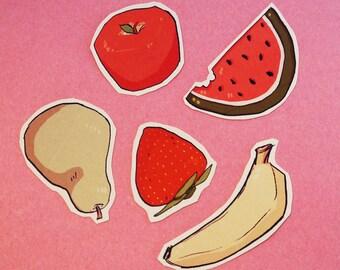 Fruit Sticker Set