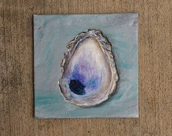 Oyster Shell Painting