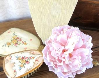 Pink Peony Hair Clip, Peony Hair Clip, Peony, Bridal Flower