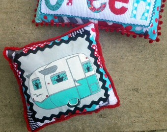 Camper Pillows, Camper Decor, Camper Pillow Vintage Camper, Custom Pillows Personalized Pillows,