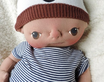 Sale** 50% off** Tyson a One of a Kind Soft Sculpture Baby Doll by BeBe Babies