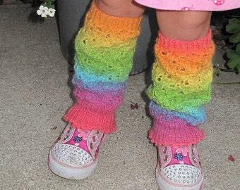 Girls Legwarmers - Sugar Plum Fairy Knitting Pattern