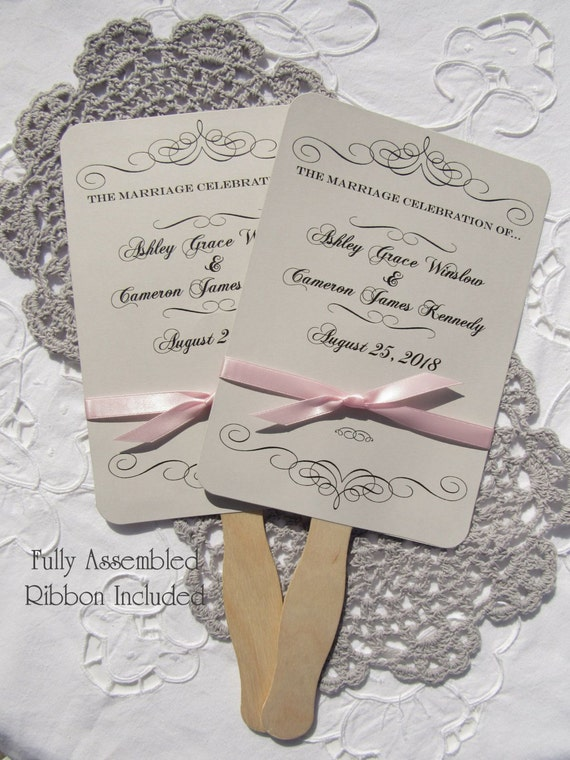 Wedding Fans Wedding Hand Fans Personalized Fans