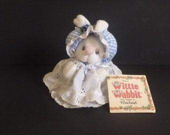 Wittle Wabbit Wachael. Stuffed animal. sock bunny rabbit. easter bunny