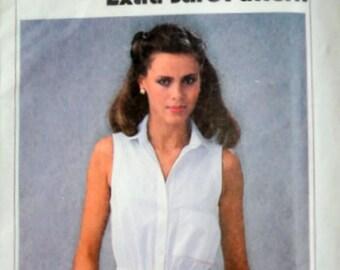 Sewing Pattern, Vintage 70's Simplicity 8972, Shirtwaist Dress & Sash, Size 6-8-10, Uncut FF, 1970's Spring Summer Fashion