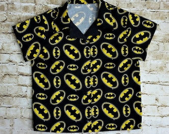 Batman Shirt - Superhero Birthday - Little Boys Shirt - Toddler Boy Clothes - Batman Birthday - Superhero Party - Toddler Shirt - 3T to 10