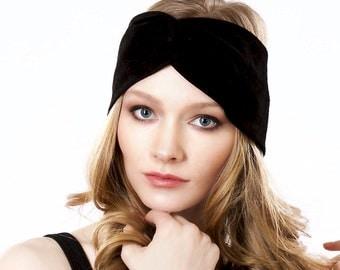 Turban Twist Headband Fall Accessories Suede Headband Fall Bohemian Style Fashion Headband Leather Headband Women's Headband Gift For Her