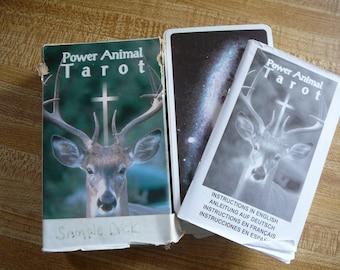 Power Animal Tarot Deck by Gayan Silvie Winter - Rare Collectible