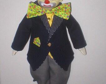 Hobo clown doll