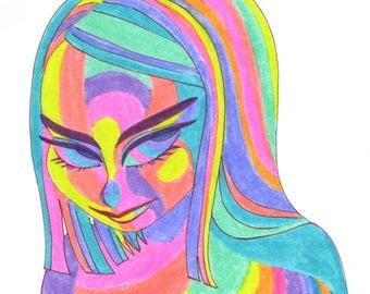 Rainbow Lady C