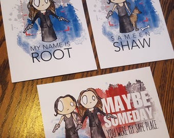 "Root and Shaw 5"" x 7"" Print Pack"