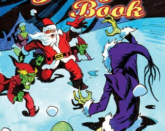 THE JINGLE BOOK Santa Claus Perfect Christmas Gift for Comics Lovers!