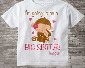 Big Sister Shirt or Onesie - Big Sister shirt Gift - Big Sister Shirt Announcement - Big Sister Outfit -Going to Be A Big Sister - 01062012b