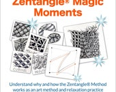3D Tangle Zentangle® Magic Moments - Download PDF Tutorial Ebook
