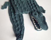 CUSTOM ORDER - alligator scarf