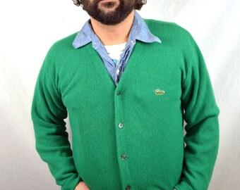 Vintage IZOD LACOSTE Cardigan Sweater