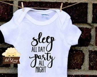 Baby Onesie/Bodysuit/ Baby gift/ Baby shower/Infant/Baby Clothing /JW/Sleep All Day/Ministry clothes/ Coming Home Outfit