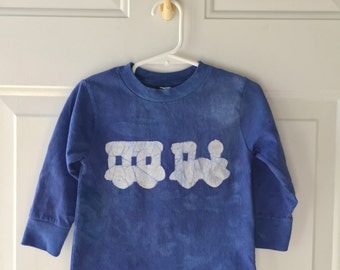 Kids Train Shirt, Boys Train Shirt, Girls Train Shirt, Blue Train Shirt, Toddler Train Shirt, Long Sleeve Shirt, Steam Train Shirt (2T)