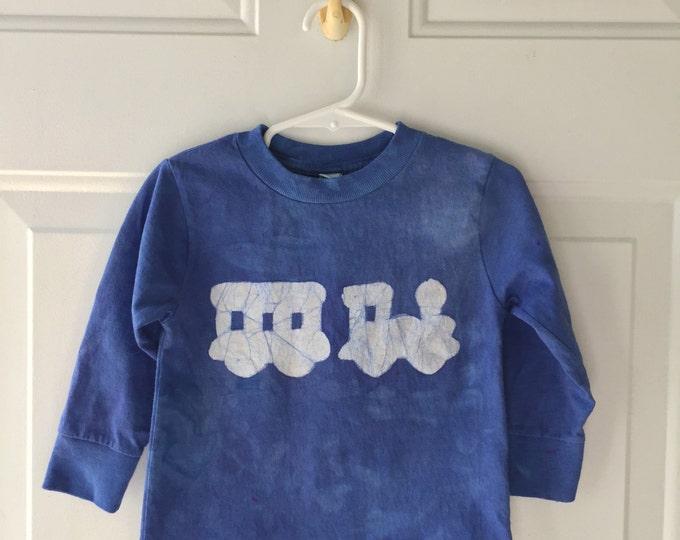 Kids Train Shirt, Boys Train Shirt, Girls Train Shirt, Blue Train Shirt, Toddler Train Shirt, Long Sleeve Shirt, Steam Train Shirt (2T)
