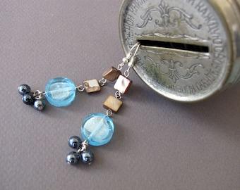 Dangle Bookkeeper  Earrings