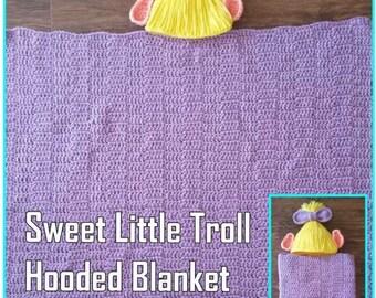 Sweet Little Troll Crochet Pattern PDF-INSTANT DELIVERY