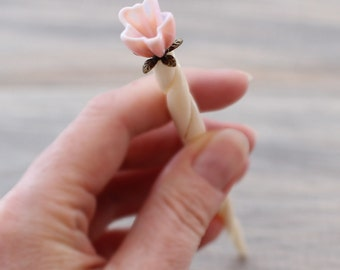 Custom bun pin, bun stick, hair stick, bun holder, bun maker, mom bun